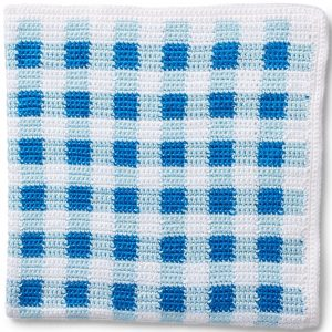 Crochet-Gingham-Picnic-Blanket-Pattern