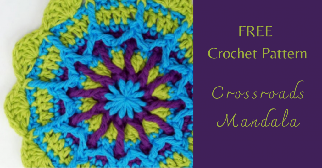 I love Yarn Forever Featured Image_Crossroads Mandala