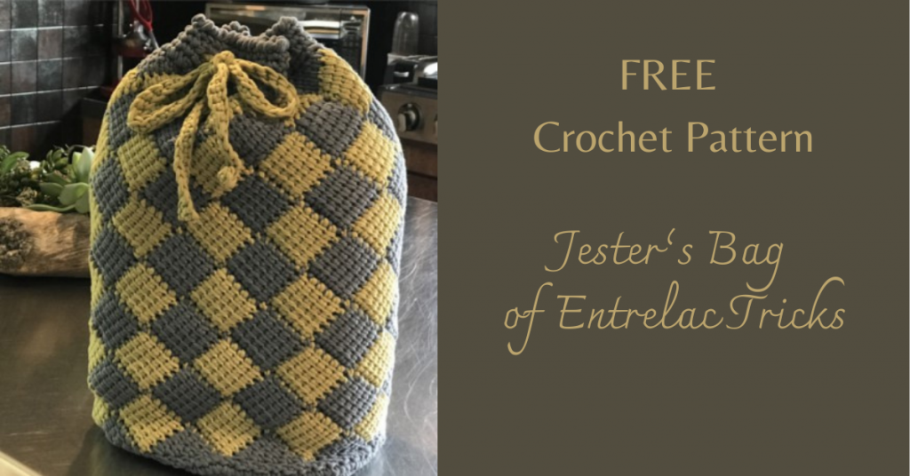 I love Yarn Forever Featured Image_Jesters Bag of Entrelac Tricks