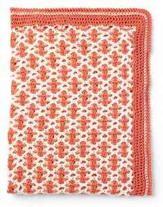 Crochet Interlocking Stitch Blanket