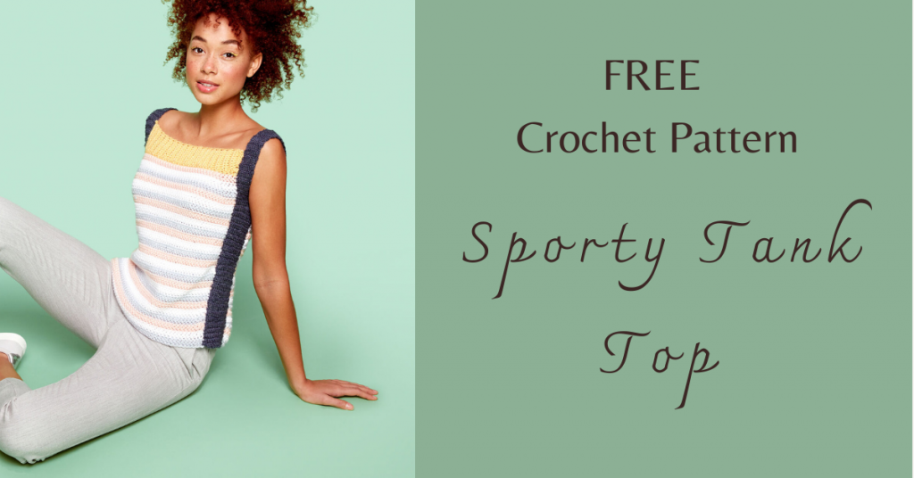 I love Yarn Forever Featured Image_Crochet Sporty Tank Top
