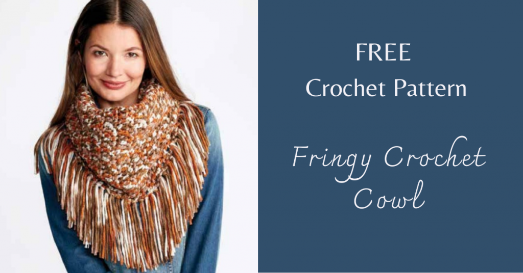 I love Yarn Forever Featured Image_Fringy Crochet Cowl