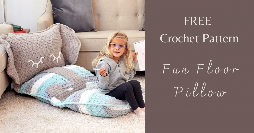 I love Yarn Forever Featured Image_Fun Floor CrochetPillow