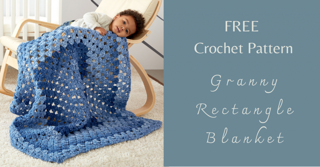 I love Yarn Forever Featured Image_Granny Rectangle Crochet Blanket