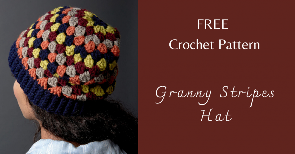 I love Yarn Forever Featured Image_Granny Stripes Hat