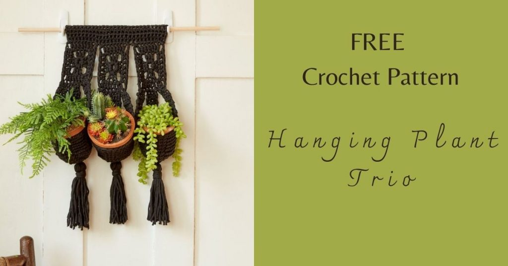 I love Yarn Forever Featured Image_Crochet Hanging Plant Trio