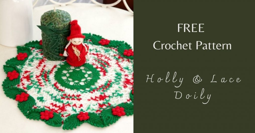 I love Yarn Forever Featured Image_Holly & Lace Doily Crochet