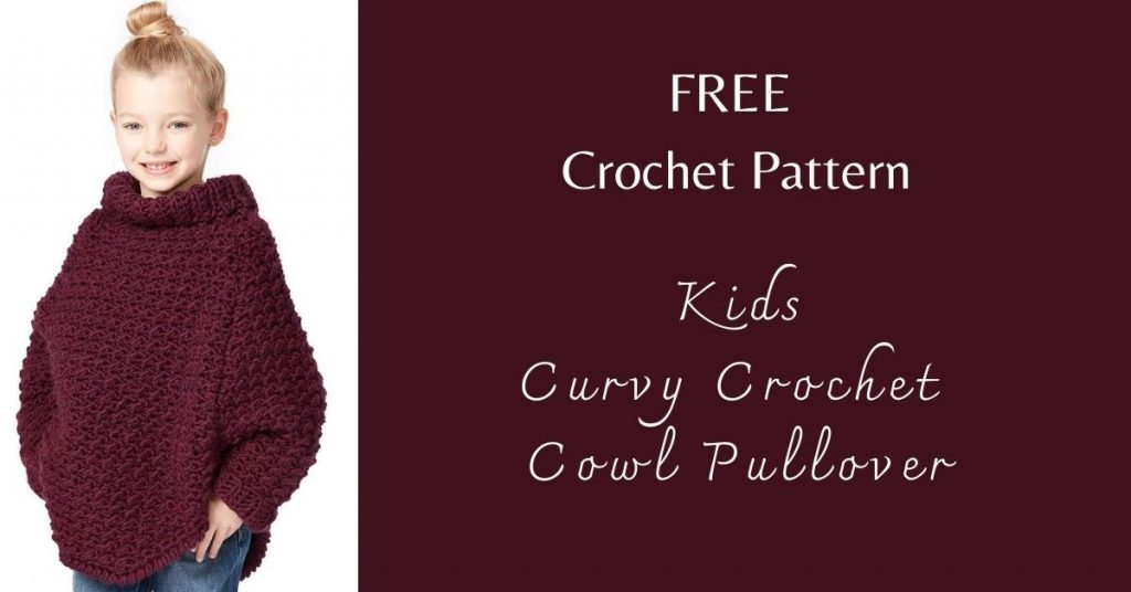 I love Yarn Forever Featured Image_Kids Curvy Cowl Pullover Crochet