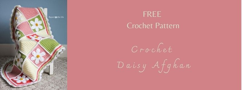 I love Yarn Forever Featured Image_Crochet Daisy Afghan