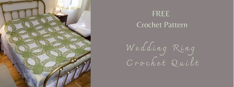 I love Yarn Forever Featured Image_Wedding Ring Crochet Quilt