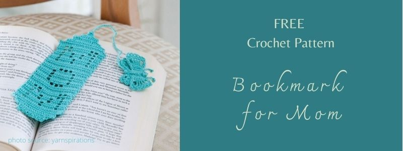 I love Yarn Forever Featured Image _crochet Bookmark for Mom